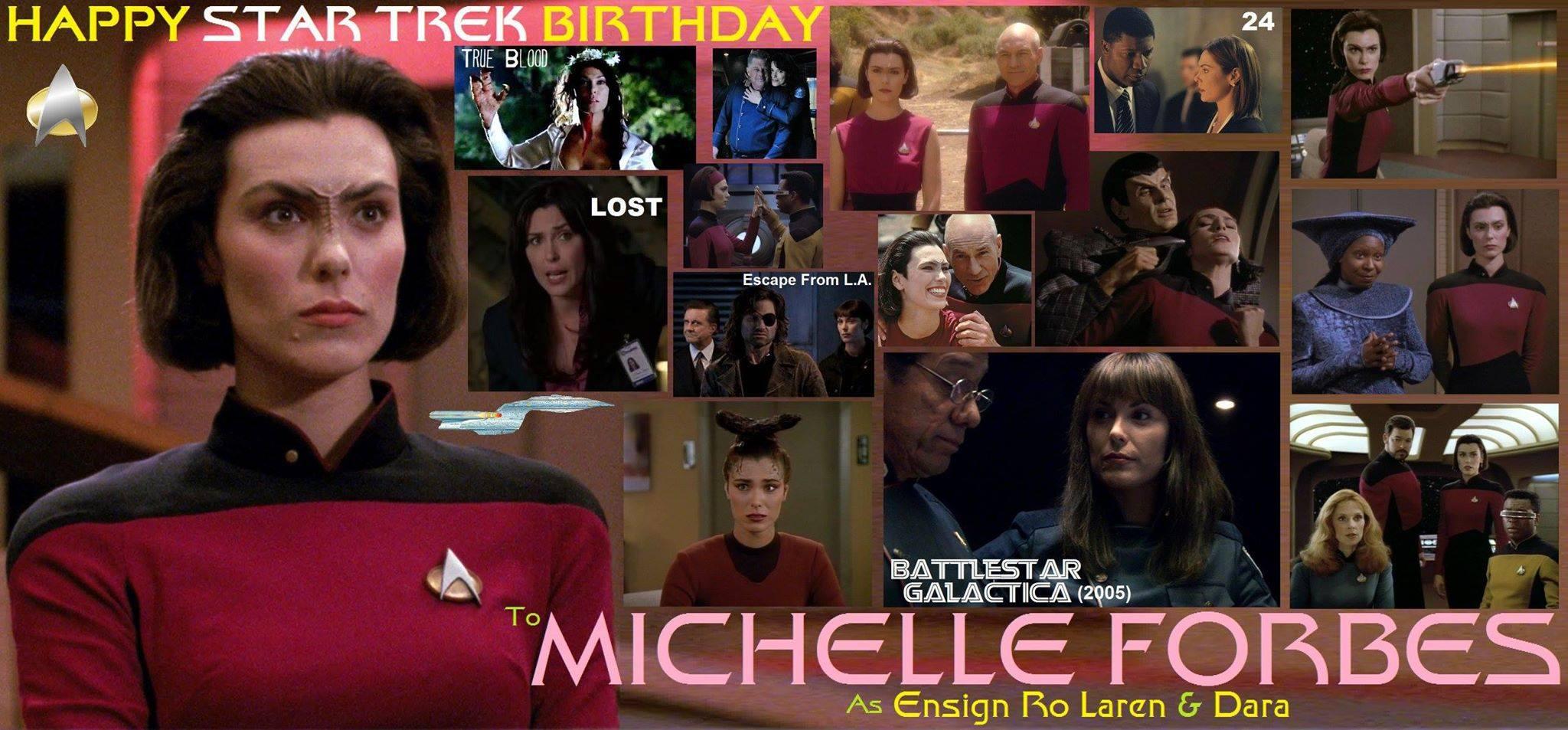 Happy birthday Michelle Forbes, born January 8, 1965 ... Michelle Forbes Birthday